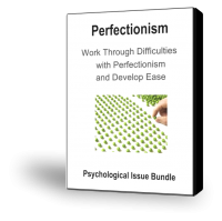 PSY01 Perfectionism Psychological Issue Bundle
