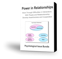 PSY17 Power in Relationships Psychological Issue Bundle