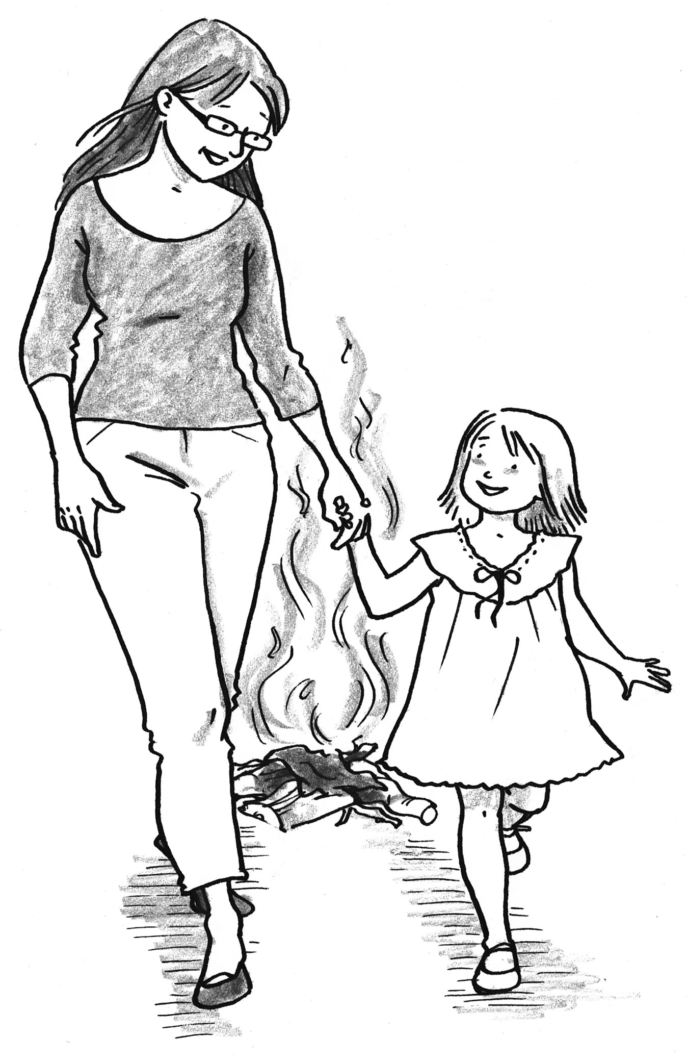 Dress-burned
